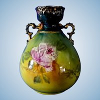Lovely Royal Bonn Germany Hand Painted Vase Numbered & Signed