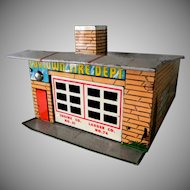 Wyandotte Toytown Fire Department Sheet Metal Garage