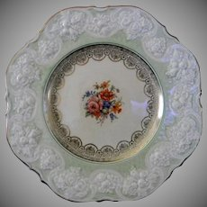 Pair of Highly Figured English Cabinet Plates by Crown Ducal