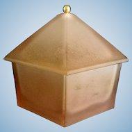 Ramses Perfume Pink Satin Powder Box