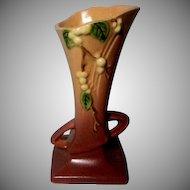 Roseville Snowberry Vase