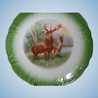 Vintage Regal Elk  Game  Plate or Charger