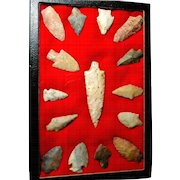 Native American Indian Arrow Heads