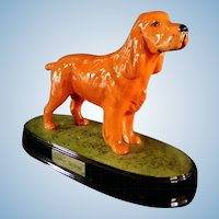 Ceramic Beswick Cocker Spaniel Dog Figurine