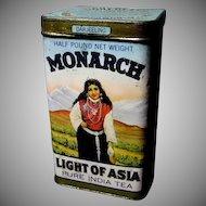 Exceptional Monarch Tea Tin
