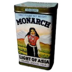 Exceptional Monarch Tea Tin
