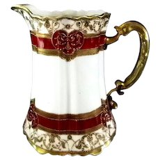 Elegant Noritake Royal Crockery Pitcher