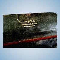 Vintage George Wahr Draftsman Set