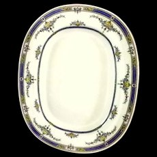 Exceptional Mintons 13 inch Oval Platter **Princess with Yellow Flower Pattern - Red Tag Sale Item