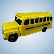 Hubley Mighty Die Cast Metal School Bus #1821