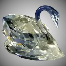 Brilliant Swarovski Crystal Large Swan  # 7159