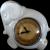 Art Deco Kitchen Clock Ceramic Elephant Middlebury  **It Runs**