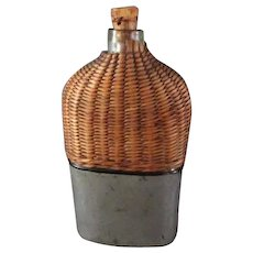 Civil War Era Hip Flask & Cup