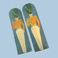 """Circa 1910 Toy Soldiers from J. Pressman & Co. """" Soldiers on Parade"""""""
