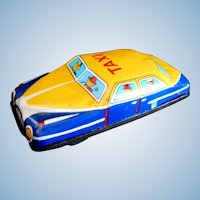 Toys Nomura Taxi Friction Car Made In Japan