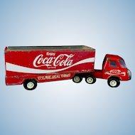 Buddy L Coca Cola Delivery Semi-Truck