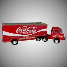 Buddy L Coca Cola Delivery Semi-Truck