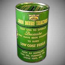 Authentic John Deere Distillate Can Still Bank  1937
