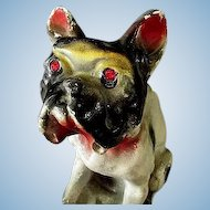 Red Eyed English Bull Dog Carnival or Circus Chalk Prize