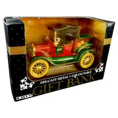 Christmas Ertl Bank in Original Box