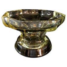 McKee Glass Company Light Amber Bowl