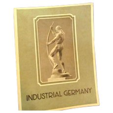 Early 1930's Magazine about Industrial Germany