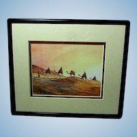 Egyptian Splendor...... A Mystical Desert Scene Print