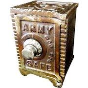 Kenton Army Combination Safe Still Bank