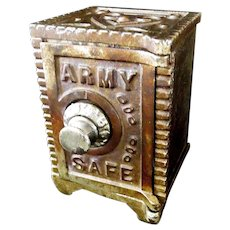 Kenton Army Combination Safe Still Bank