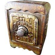 "Grey Iron Casting Company  ""Coin Deposit""  Combination Safe Still Bank"