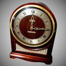 1950's Electric Seth Thomas Westminster Chiming Clock  **Self Starting**