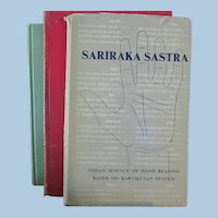 The Study of Palmstry **** Sariaaka Sastra Book