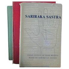 The Study of Palmstry **** Sariaaka Sastra Book