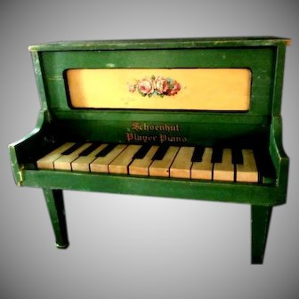 Vintage Schoenhut Player Piano Toy