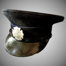 Original and Authentic Vintage Police Hat