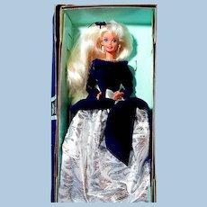 Winter Velvet Barbie Doll in Original Box  **Special Edition** Avon Exclusive