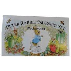 Wedgwood Nursery Set **Peter Rabbit** Baby China **Beatrix Potter**