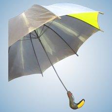 Vintage Toucan Handle Umbrella  ** Aramis Rainbird