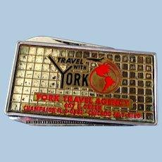 Union Carbide Advertising Money Clip / Pocket Knife