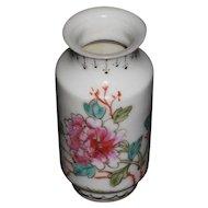 Chinese Early Republic Miniature Baluster Porcelain Vase