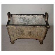Antique Chinese Bronze Censor