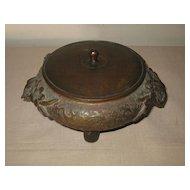Antique Chinese Bronze tripod Incense Burner