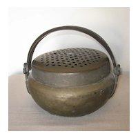 Antique Chinese Bronze Handwarmer