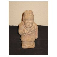 Small Tang Dynasty Pottery Dwarf