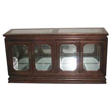 2 Pieces Vitrine Console and  Buffet
