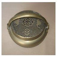 Chinese Paktong Bronze Handwarmer