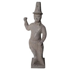 Chinese Tang Dynasty Pottery Male Figure