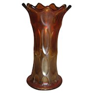 Early Vintage Small Carnival Glass Vase