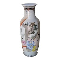 Chinese Porcelain Famille Rose Baluster Vase