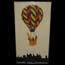 Art Expo Poster by Micky Meyers for Judith L Posner Inc. 1984